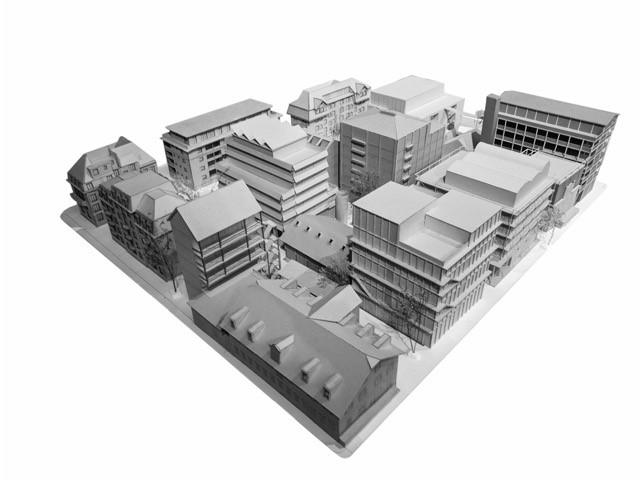 Modell 1 Areal Industriestrasse Luzern